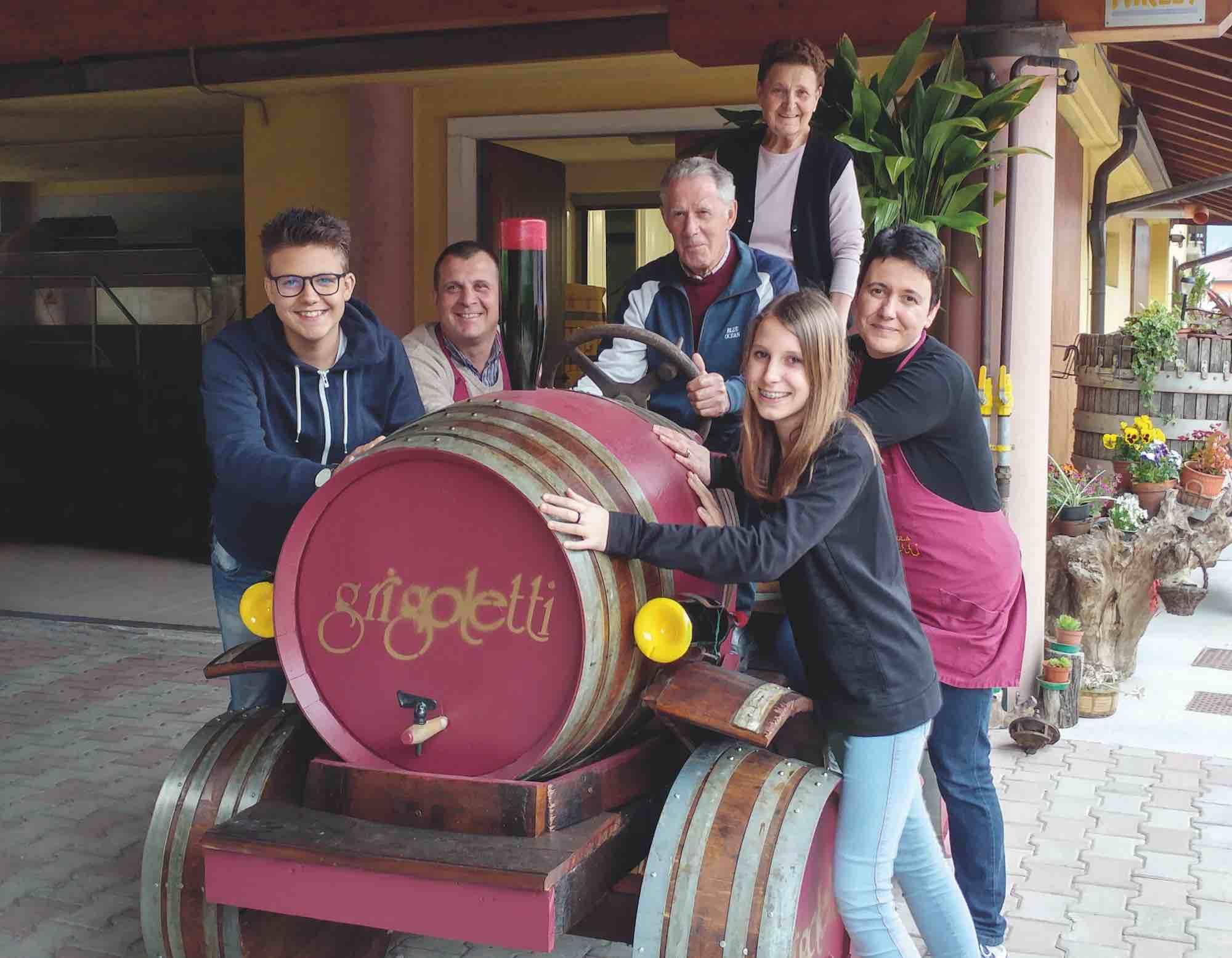 Famiglia Grigoletti- - vini trentino